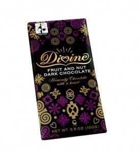 Divine Dark Chocolate with Fruit and Nut