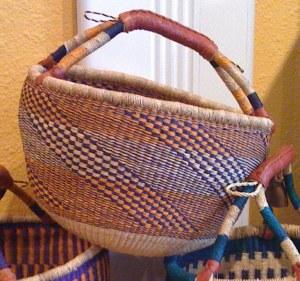 Bolga Basket from Ghana