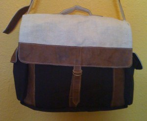 Fair Trade Hemp Satchel from Nepal