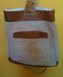 Fair Trade Hemp backpack from Nepal