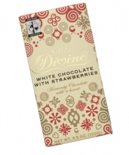 Divine White Chocolate with Strawberry
