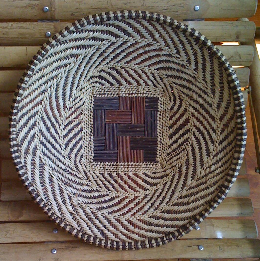 Zambia Basket Weaving : Basket weaving