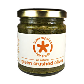 Green Crushed Olive Spread
